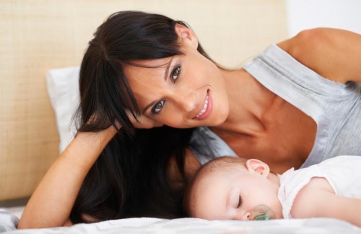 maman bebe naissance
