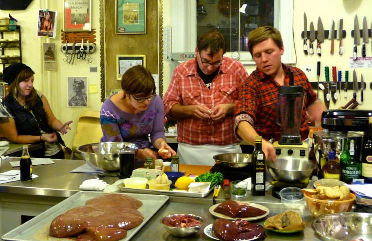 les jeunes et la cuisine