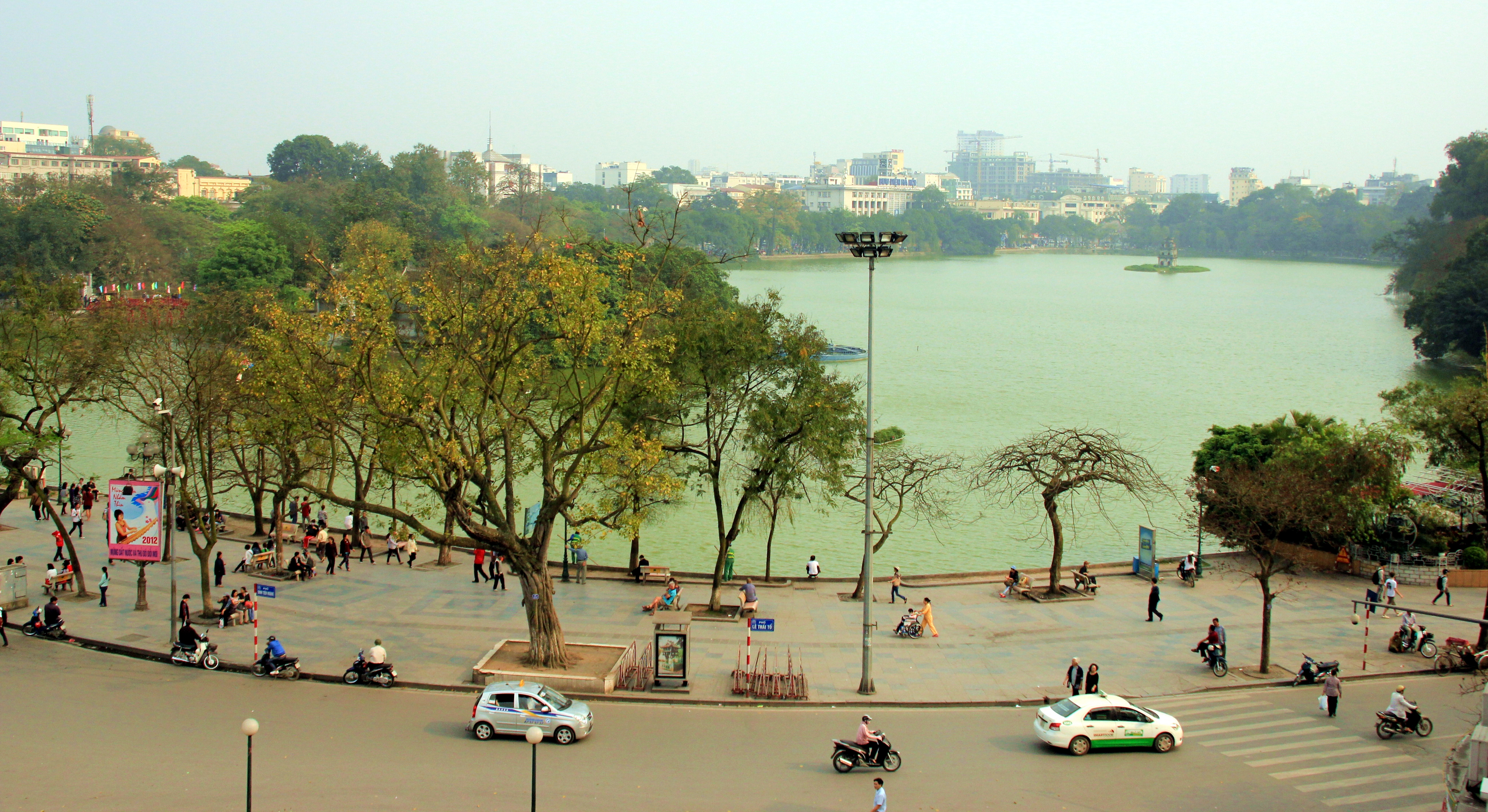 vietnam hanoi lac hoan kiem